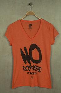 Boom-Bap-T-Shirt-BB10-048-NO-scollo-a-V-MISTO-CORALLO-arancione