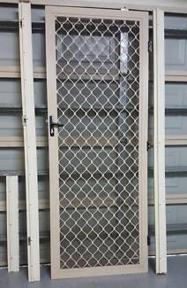 security door and frame