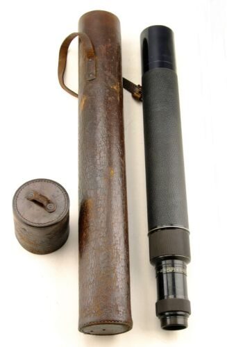 Early 20th Century Carl Zeiss 4-20 x 48.5mm Spotting Scope