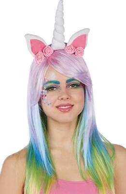 Einhorn Haarreif - Kostüm - Karneval - (Weißes Einhorn Kostüm)