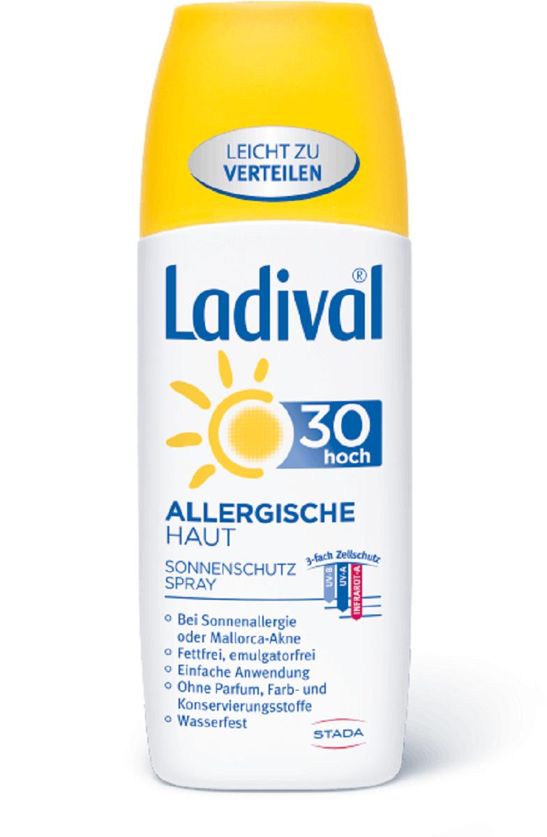 LADIVAL® ALLERGISCHE HAUT SONNENSCHUTZ SPRAY LSF 30 150 ml