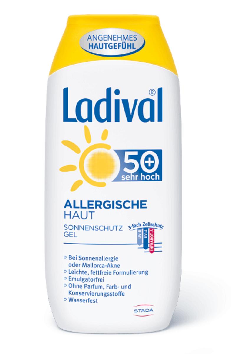 LADIVAL® ALLERGISCHE HAUT SONNENSCHUTZ GEL LSF 50+ 200 ml