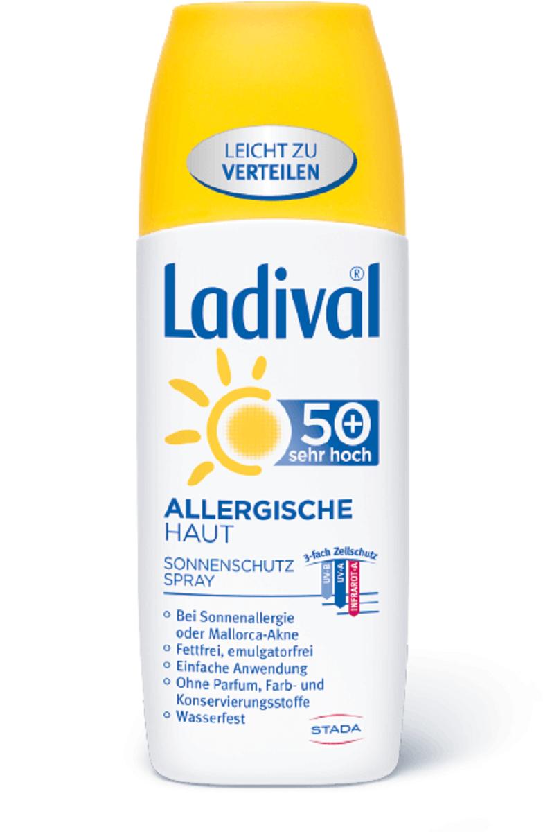 LADIVAL® ALLERGISCHE HAUT SONNENSCHUTZ SPRAY LSF 50+ 150 ml