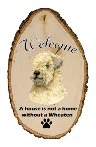 Outdoor Welcome Sign (TP) - Wheaten Terrier 94056