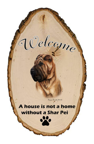 Outdoor Welcome Sign (TB) - Shar Pei 51053