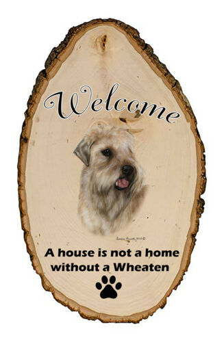 Outdoor Welcome Sign (TB) - Wheaten Terrier 51056
