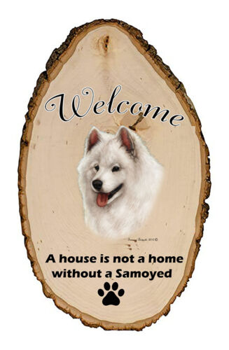 Outdoor Welcome Sign (TB) - Samoyed 51077