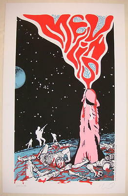 2004 The Melvins - Tempe Silkscreen Concert Poster S/N by Jeff Kleinsmith
