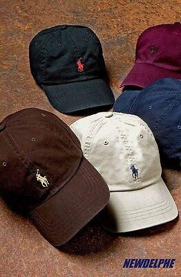Signature Adjustable Hat - NWT Polo Ralph Lauren Signature Pony Logo Baseball Hat Cap with Adjustable Strap