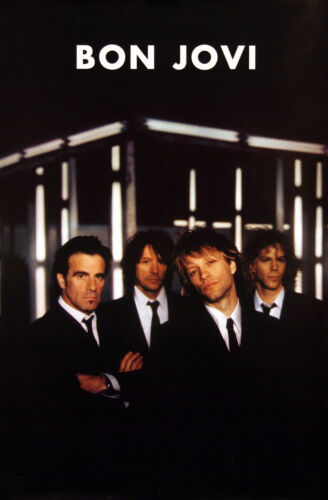 Bon Jovi 2000 Crush Original Promo Poster
