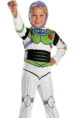 Buzz Lightyear Costume Child Toddler Disney Toy Story - XS 3T-4T, S 4-6, M 7-8](Toddler Buzz Lightyear Costume)