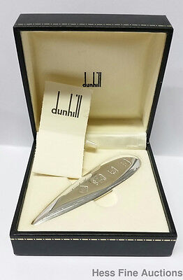 Sterling Silver Alfred Dunhill Letter Opener 1998 Brand New Never Been Used