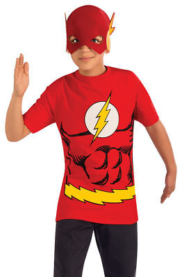 Morris Costumes Boys Short Sleeve Flash Child Costume 8-10. RU887449MD](Cheap Halloween Costumes Teens)