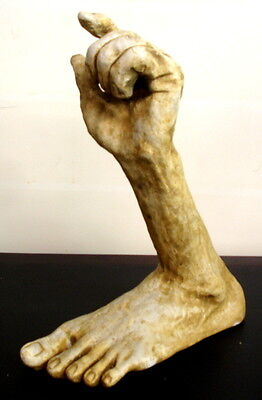 Large Statue Foot and Hand Sculpture Unique Art