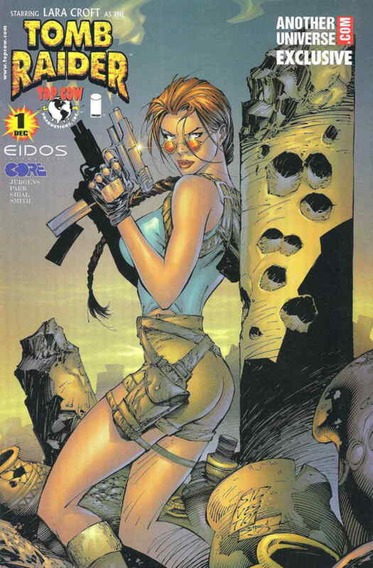 Tomb Raider: The Series #1F VF/NM; Image | save on shipping - details inside