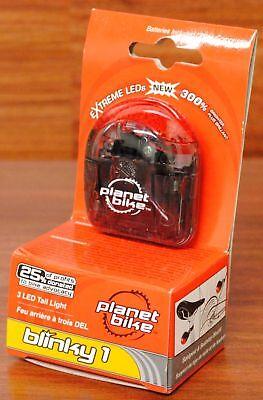 Planet Bike Blinky 1 Bicycle Rear Tail/Light LED - Blinky Flashing Lights