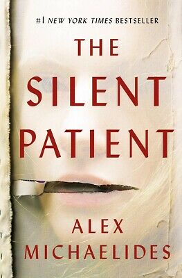 The Silent Patient: A Novel by Alex Michaelides HARDCOVER 2019, Best selling (Best Selling Mysteries 2019)