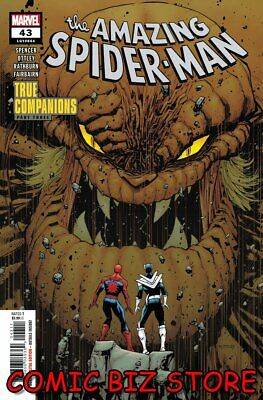AMAZING SPIDER-MAN #43 (2020) 1ST PRINTING OTTLEY MAIN COVER MARVEL