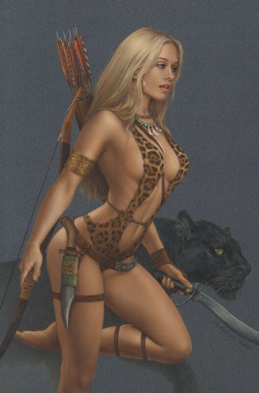 🚨🔥 SHEENA QUEEN OF THE JUNGLE #1 CELINA 616 Virgin Variant LTD 500 COA