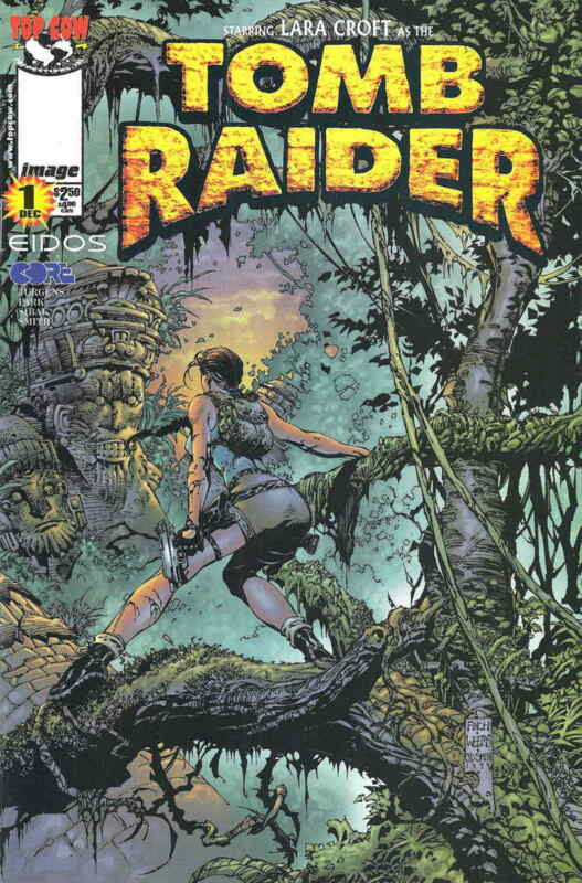 Tomb Raider: The Series #1B VF/NM; Image | save on shipping - details inside