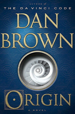 New Origin   A Novel By Dan Brown   Author Of The Davinci Code   Hardcover