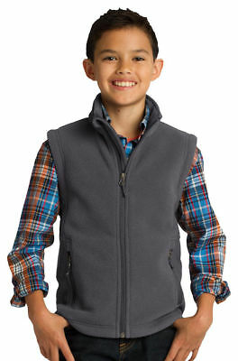 Port Authority Youth Front Zippered Pocket Polyester Winter