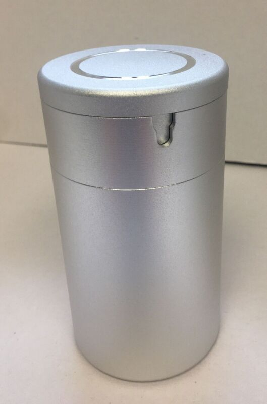 Nostafy Alloy Aluminum Ashtrays Car Cup Holder Cigarette SILVER  RG9/2