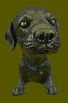 Labrador Retriever Hunting Dog Bronze Marble Statue Sculpture Breeder Gift Art