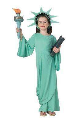 Rubies Freiheitsstatue USA Amerika Freedom Kinder Mädchen Halloween Kostüm 11259 (Freiheitsstatue Kostüm Kind)