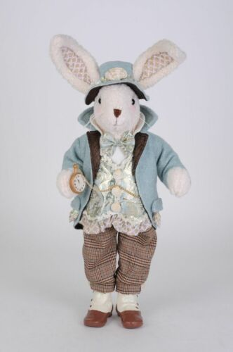 Beach Easter Bunny Rabbit Figurine Seashells