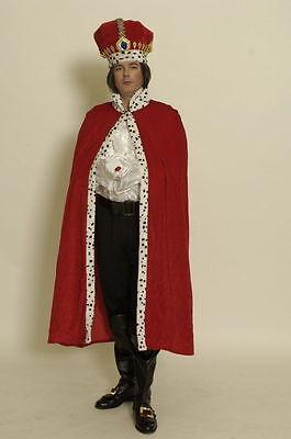 Umhang König 1tlg. Mantel Königskostüm Robe Kostüm Kaiser Märchen (König Umhang Kostüme)
