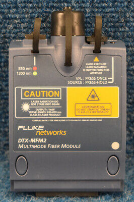 New Fluke Dtx-mfm2 Dtxmfm2 Multimode Fiber Module For Fluke Dtx-1800dtx-1200