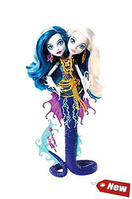 Monster High Great Scarrier Reef Peri & Pearl Serpintine Doll Two Headed Toy NEW