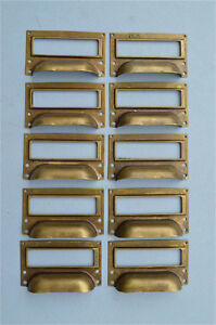SET-OF-10-BRASS-FILING-CABINET-LABEL-HANDLES-FILE-DRAWER-HANDLE-FURNITURE-FD2