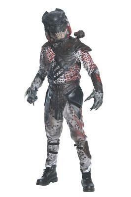 Rubies Alien Versus Predator Black Deluxe Adult Mens Halloween Costume - Deluxe Predator Kostüm