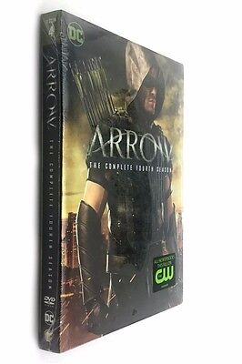 Arrow  the Complete Fourth Season 4 (DVD, 2016, 5-Disc Set)