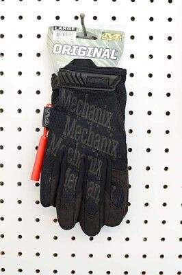 Mechanix Original Work Mechanic Sport Tactical Black Gloves (MG-55-010, Large)