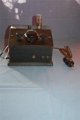 Detektorempfänger Retro Röhre UEL 71  ca. 24x23x17 cm