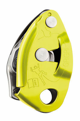 GRIGRI 2 Belay Rappel Device Yellow by PETZL