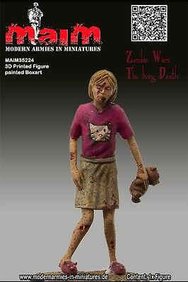MAIM ZOMBIE - LITTLE GIRL SCALA 1:35 COD.ART.35224 (Zombie Little Girl)