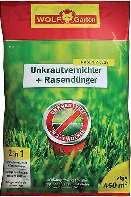 Wolf MTD Weed Killer plus Lawn Fertilizer Rasen-Düngemittel against Weed New