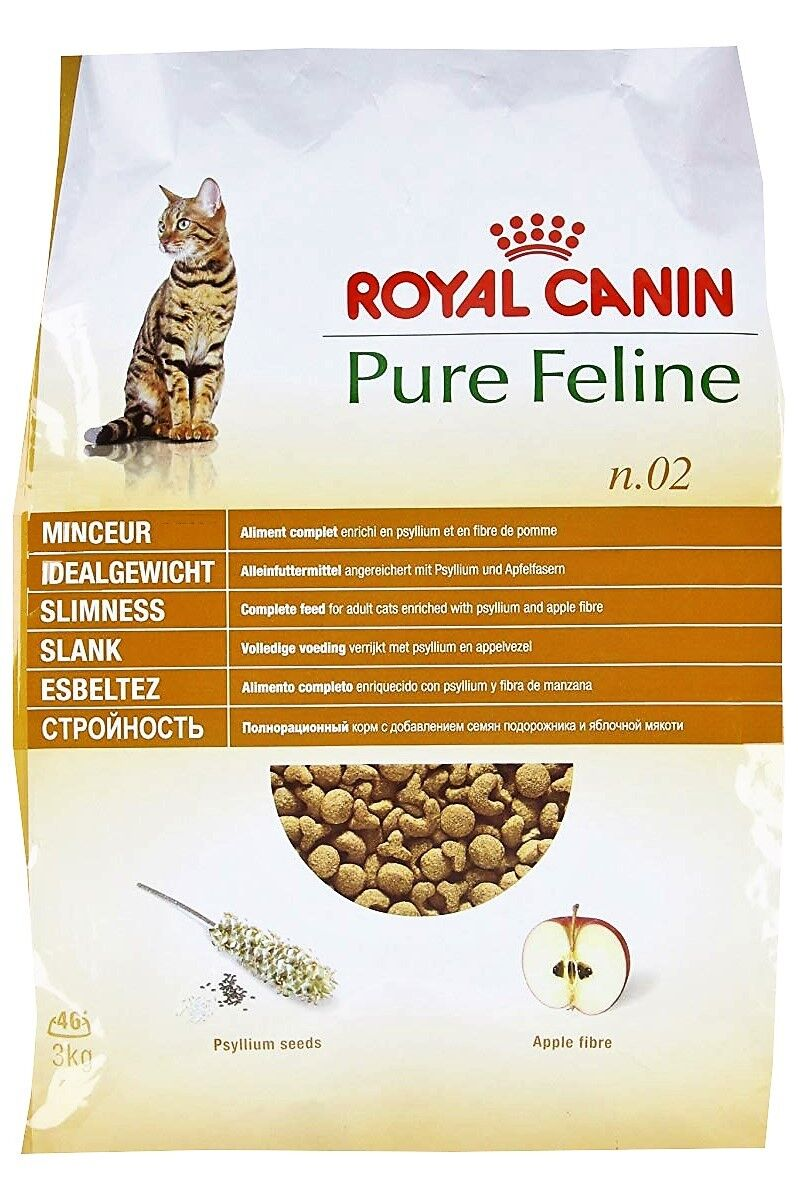 Royal Canin Pure Feline Idealgewicht – kalorienarm, für mollige Katzen - 3 kg