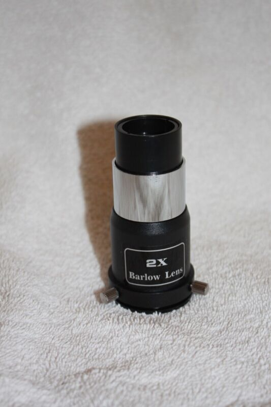 "Meade 1.25"" 2x Economy Telescope Barlow Lens - New Old Stock"