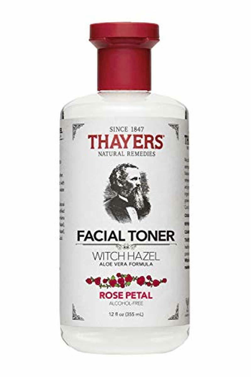alcohol free rose petal witch hazel toner