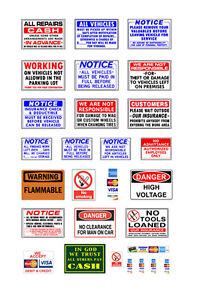 1-87-HO-scale-model-automobile-repair-car-service-auto-shop-signs