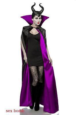 Sexy Costume Fata Halloween XS/M (38/40/42/44) Abito Mantello Corna Collant !