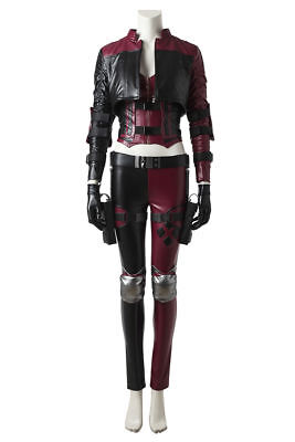 Harley Quinn Outfits (Injustice 2 Harley Quinn Harleen Outfits Fancy Prop Halloween Cosplay Costume)