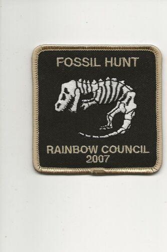 RAINBOW COUNCIL /  FOSSIL  HUNT  2007 - Boy Scout BSA A132/7-24