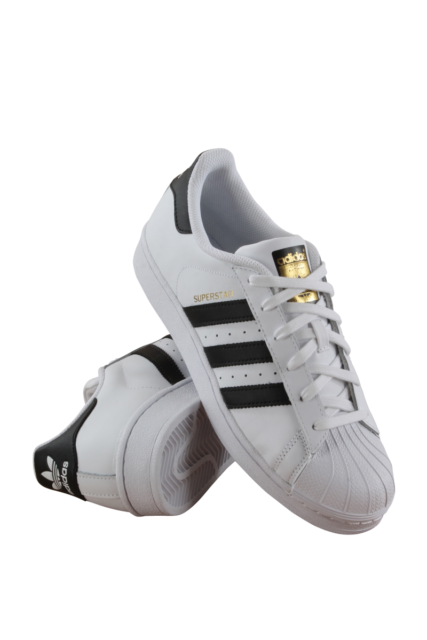 Adidas Superstar White And Black Womens Size 5