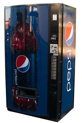 Vendo Univendor 2 Vending Machine W Pepsi Graphic Free Shipping Cans Bottles